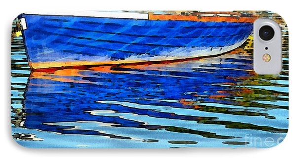 Colorful Boat On The Water IPhone Case by Odon Czintos