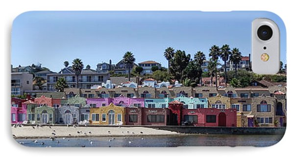 Colorful Buildings And Beach IPhone Case