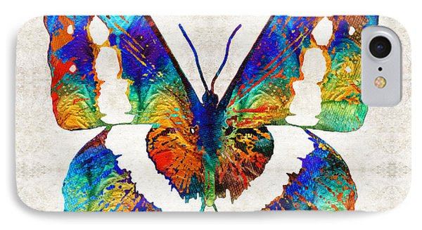 Colorful Butterfly Art By Sharon Cummings IPhone Case by Sharon Cummings