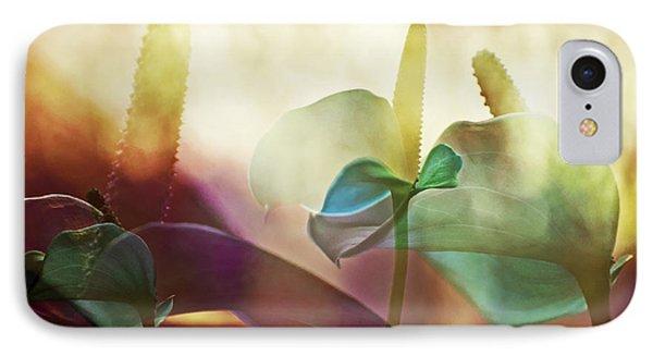 Colorful Calla Phone Case by Eiwy Ahlund