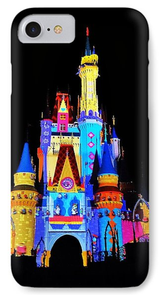 Colorful Castle Phone Case by Benjamin Yeager