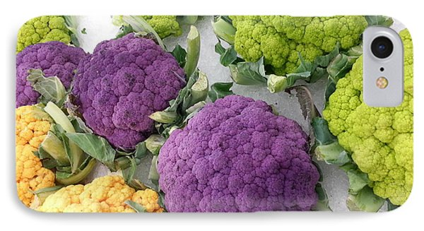 IPhone Case featuring the photograph Colorful Cauliflower by Caryl J Bohn