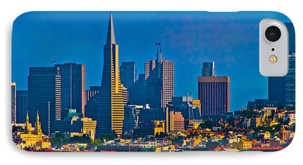 Colorful City By The Bay Phone Case by Mitch Shindelbower