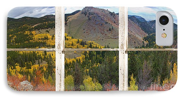 Colorful Colorado Rustic Window View Phone Case by James BO  Insogna