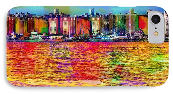 Colorful Coney Island IPhone Case