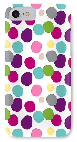 Colorful Confetti 2 IPhone Case by Linda Woods