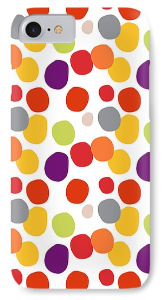 Colorful Confetti  IPhone Case by Linda Woods