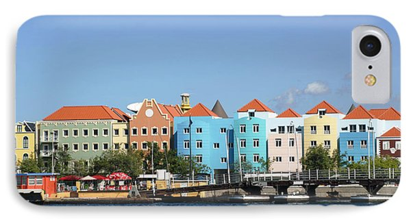 Colorful Curacao IPhone Case by Living Color Photography Lorraine Lynch