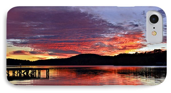 Colorful Evening Phone Case by Susan Leggett