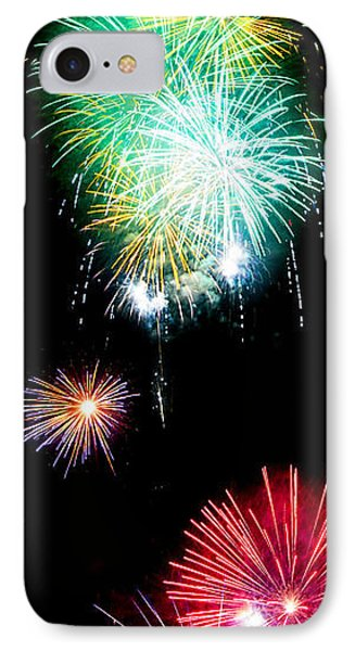 Colorful Explosions No3 Phone Case by Weston Westmoreland