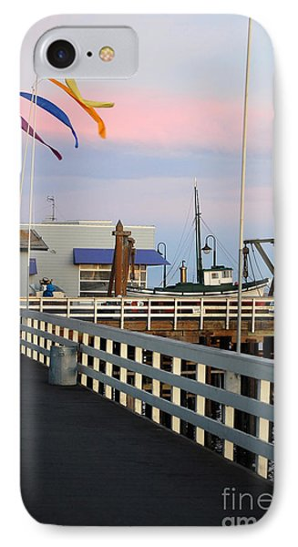 Colorful Flags And Wharf IPhone Case