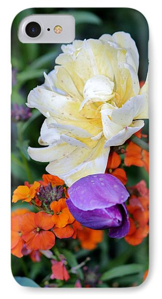 Colorful Flowers Phone Case by Cynthia Guinn