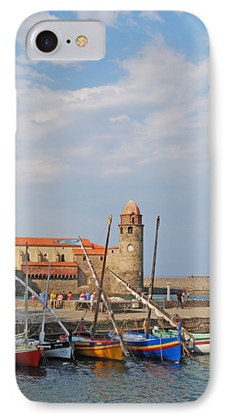 Colorful Harbour IPhone Case by Ankya Klay