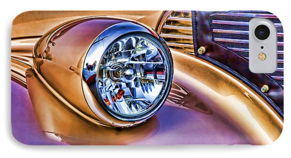 Colorful Hotrod IPhone Case by Carol Leigh