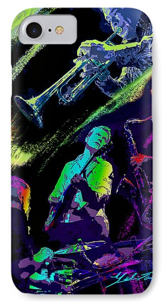 Colorful Jazz IPhone Case
