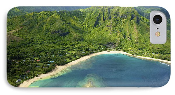 Colorful Kauai Coastline Phone Case by Kicka Witte