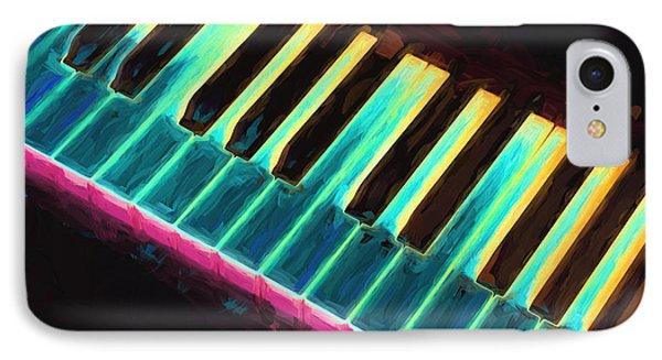 Colorful Keys IPhone Case by Bob Orsillo