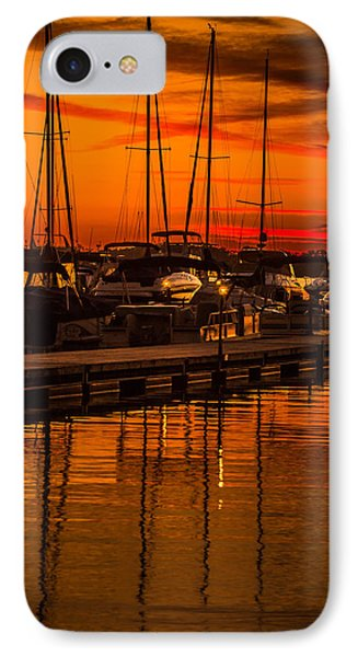 Colorful Lake Norman Sunset IPhone Case