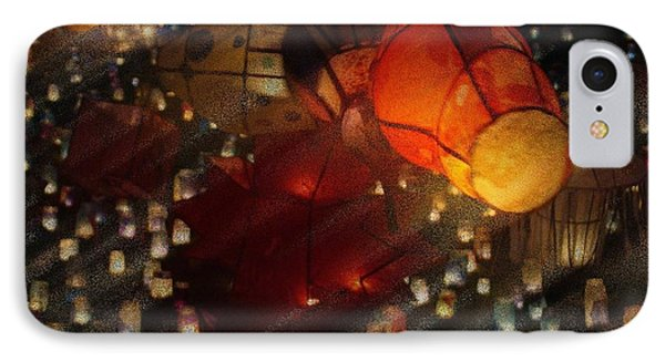 IPhone Case featuring the photograph Colorful Lanterns by Zinvolle Art