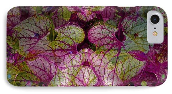 Colorful Leaf Phone Case by Eiwy Ahlund