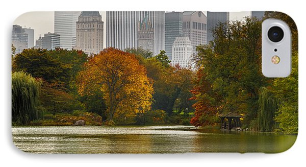 Colorful Magic In Central Park New York City Skyline IPhone Case