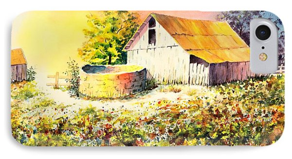Colorful Old Barn IPhone Case by Pattie Calfy