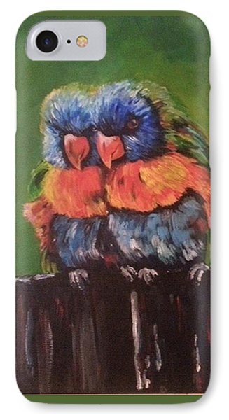 Colorful Parrots IPhone Case