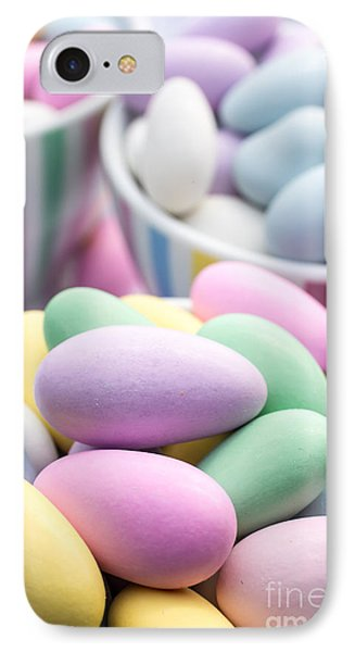 Colorful Pastel Jordan Almond Candy IPhone Case by Edward Fielding