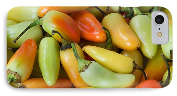 Colorful Peppers Phone Case by James BO  Insogna