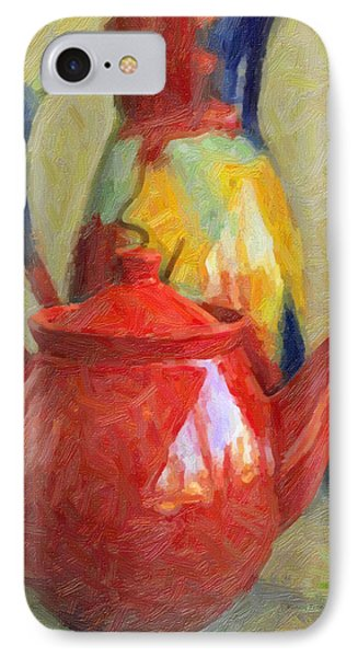 Colorful Pottery Phone Case by Kenny Francis