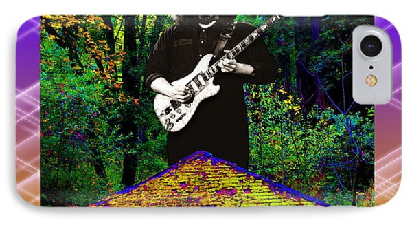 IPhone Case featuring the photograph Colorful Pyramid Concert by Ben Upham
