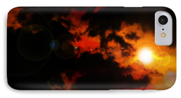 Colorful Sky IPhone Case by Persephone Artworks