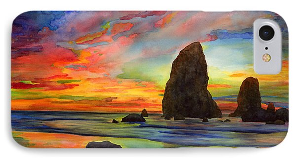 Colorful Solitude IPhone Case by Hailey E Herrera