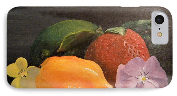 IPhone Case featuring the painting Colorful Still by Lori Ippolito