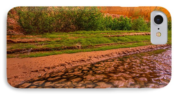 Colorful Streambed - Coyote Gulch - Utah IPhone Case