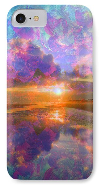 Colorful Sunset By Jan Marvin IPhone Case