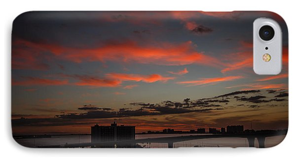 IPhone Case featuring the photograph Colorful Sunset by Jane Luxton