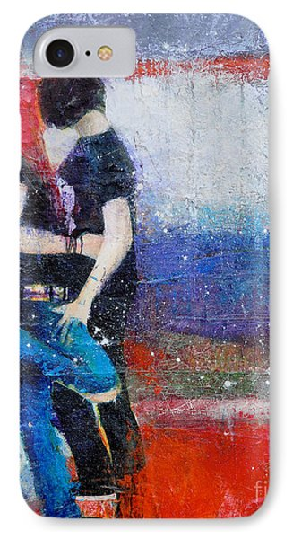 Colorful Teen Together For Ever  Phone Case by Johane Amirault
