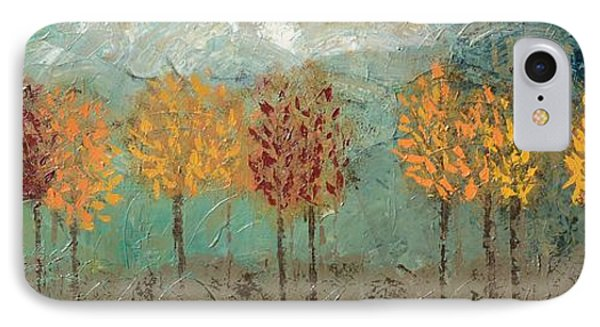 Colorful Trees IPhone Case
