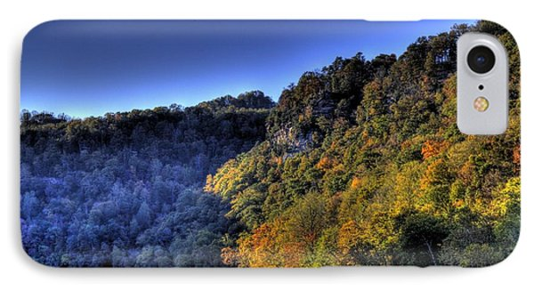 IPhone Case featuring the photograph Colorful Trees Over A Lake by Jonny D