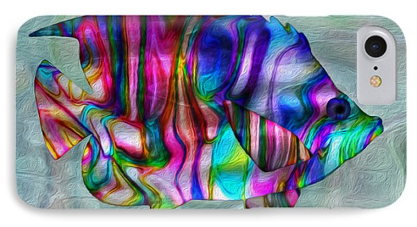 Colorful Tropical Fish IPhone Case by Jack Zulli