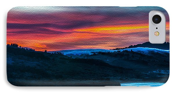 Colorful Twilight Panorama IPhone Case
