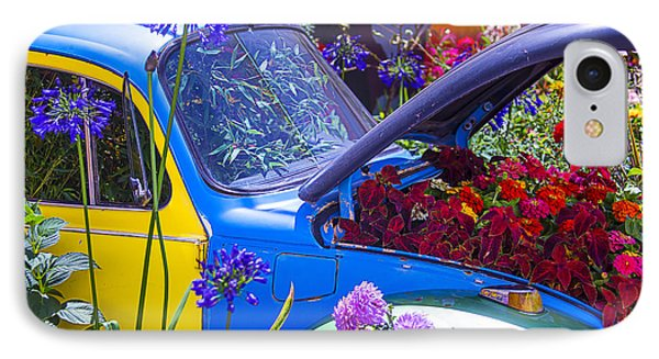 Colorful Vw Bug IPhone Case by Garry Gay