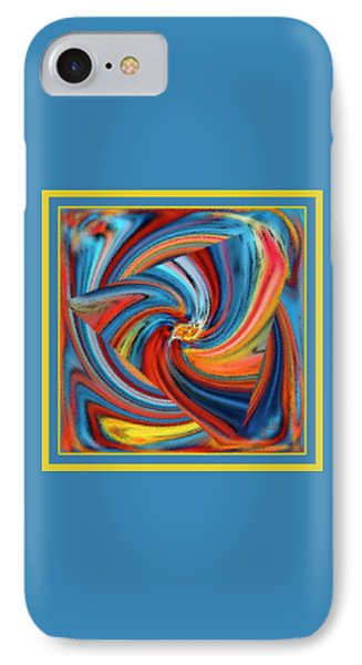 Colorful Waves Phone Case by Ben and Raisa Gertsberg