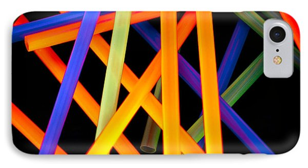 Coloring Between The Lines Phone Case by Charles Dobbs