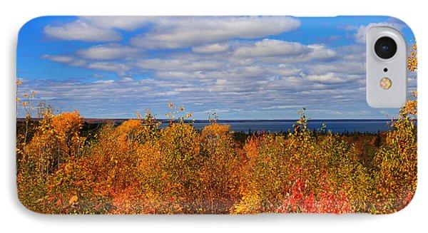 Colors Above Lake Superior IPhone Case by Rachel Cohen