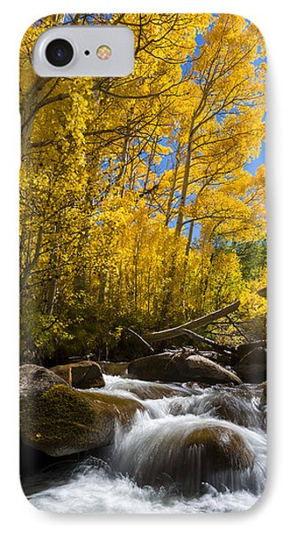 Colors And The Cascades Of South Fork Bishop Creek IPhone Case