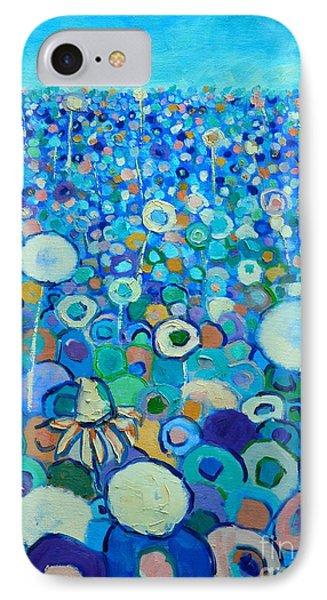 Colors Field In My Dream Phone Case by Ana Maria Edulescu