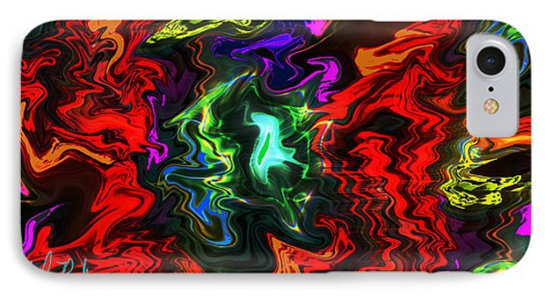 Colors In Motion Phone Case by Michael Rucker