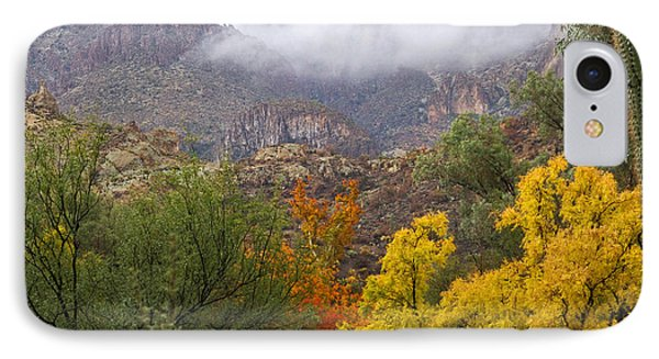 Colors In The Mist IPhone Case by Sue Cullumber